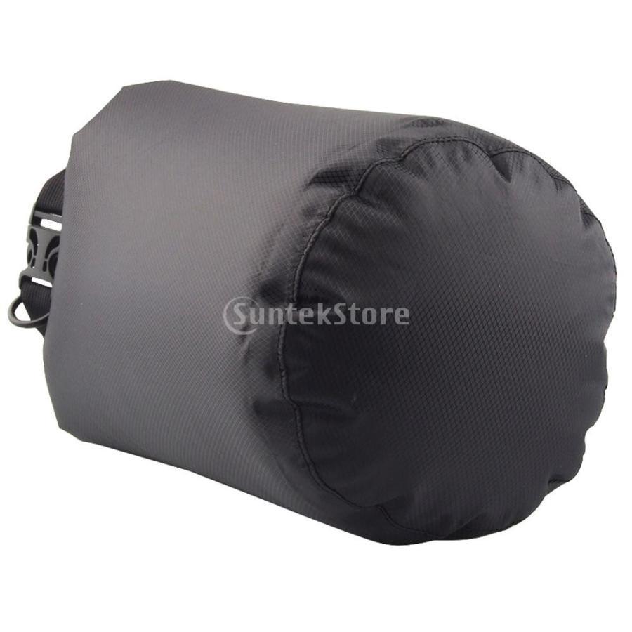 ドライバッグ 約80リットル 防水 防塵 ロールトップ 圧縮袋 ドライサック 全4種類 - ブラック stk-shop 04