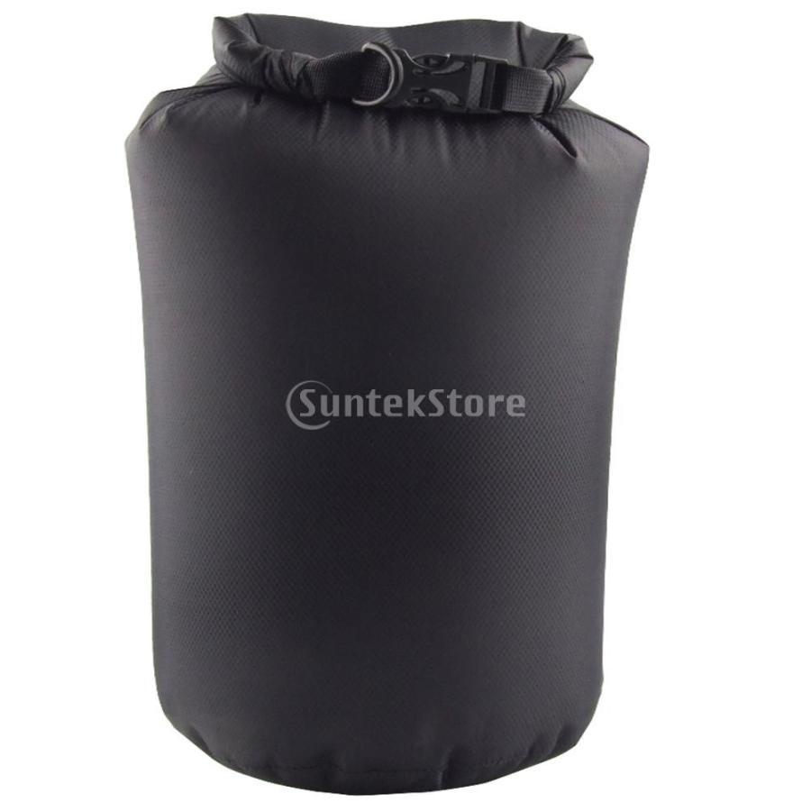 ドライバッグ 約80リットル 防水 防塵 ロールトップ 圧縮袋 ドライサック 全4種類 - ブラック stk-shop 06