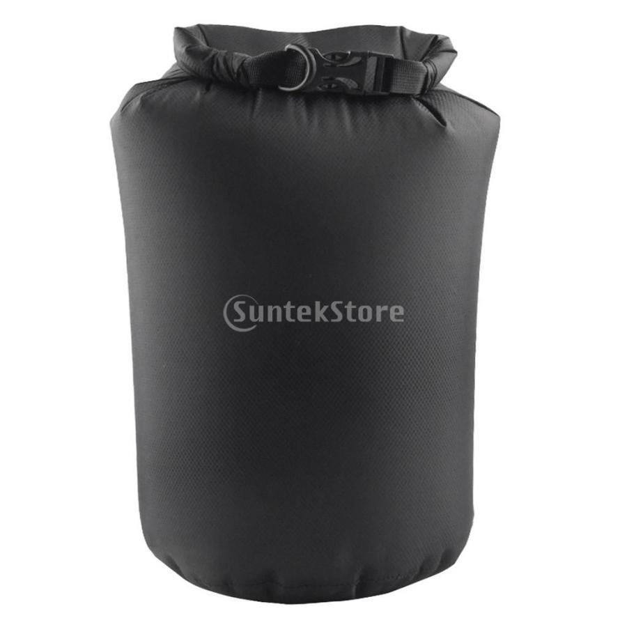 ドライバッグ 約80リットル 防水 防塵 ロールトップ 圧縮袋 ドライサック 全4種類 - ブラック stk-shop 09