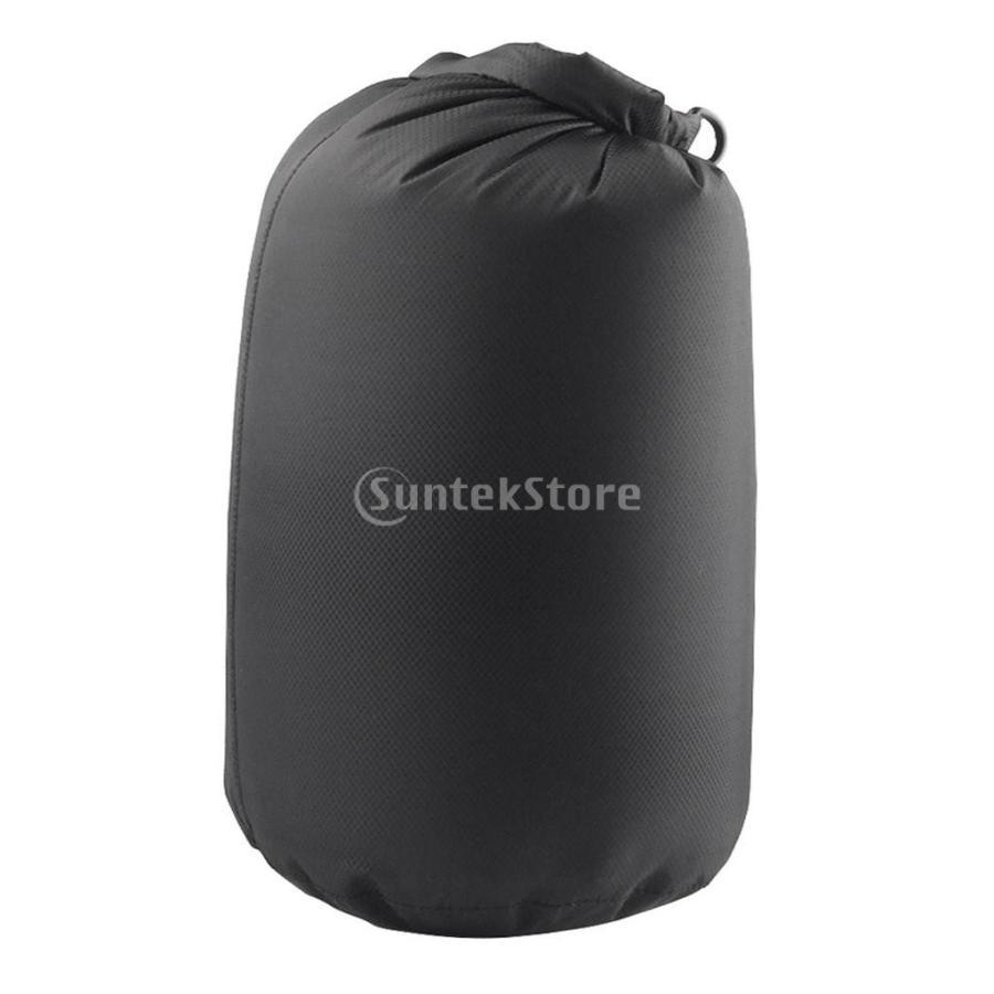 ドライバッグ 約80リットル 防水 防塵 ロールトップ 圧縮袋 ドライサック 全4種類 - ブラック stk-shop 10