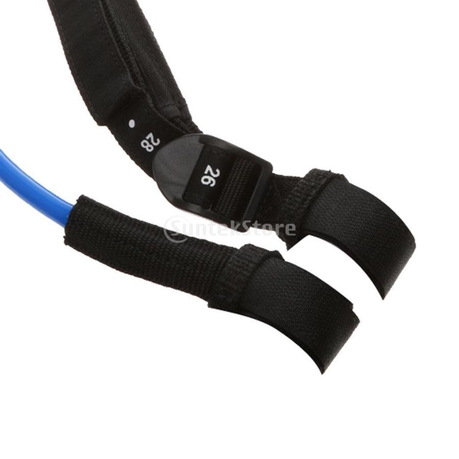 ウィンドサーフィン ハーネス ライン 長さ調節可能 2個 全2色5長さ - 青, 22-28インチ|stk-shop|02