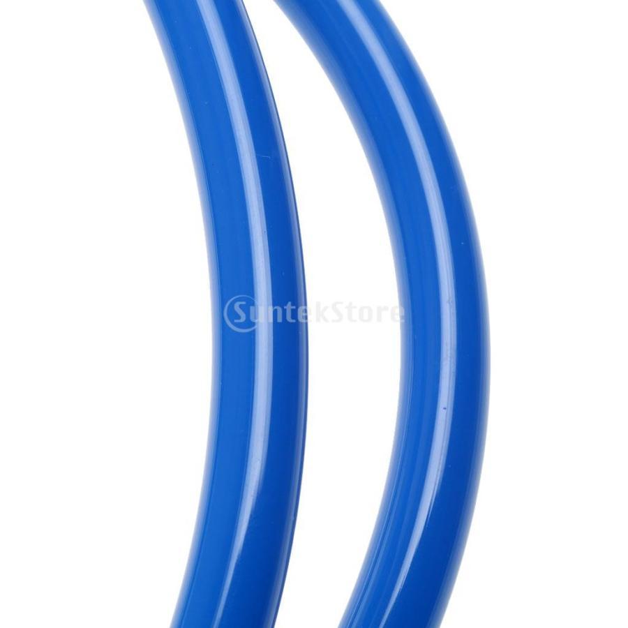 ウィンドサーフィン ハーネス ライン 長さ調節可能 2個 全2色5長さ - 青, 22-28インチ|stk-shop|05