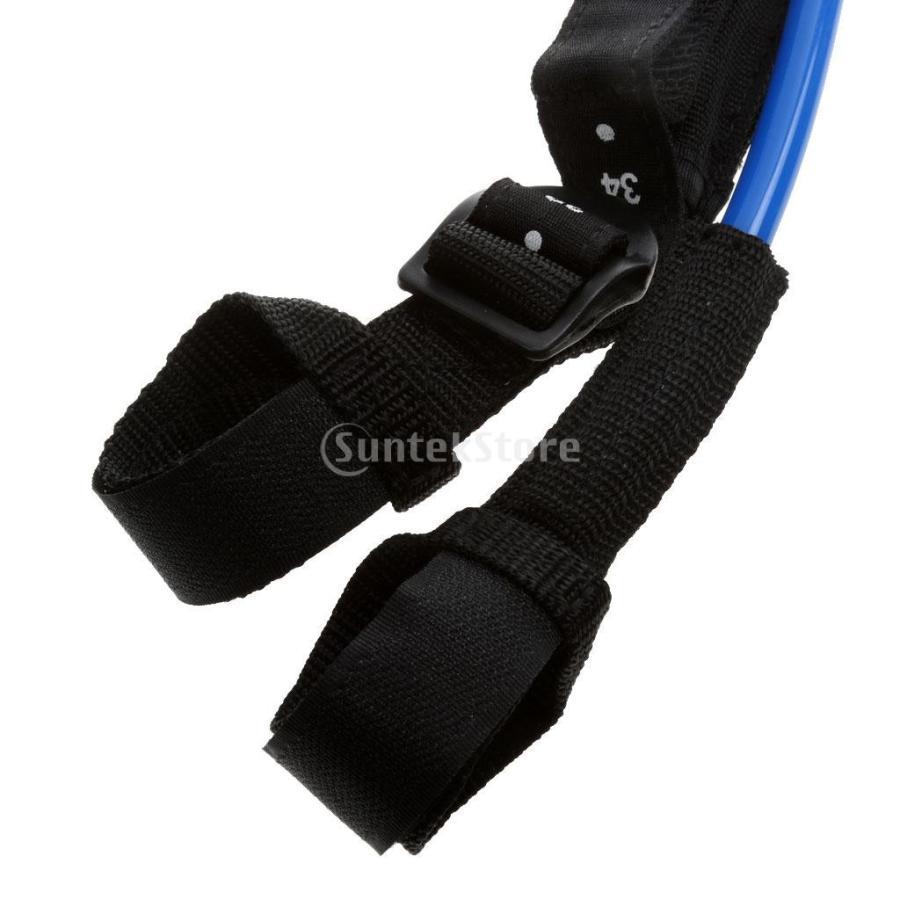 ウィンドサーフィン ハーネス ライン 長さ調節可能 2個 全2色5長さ - 青, 28-34インチ stk-shop 05