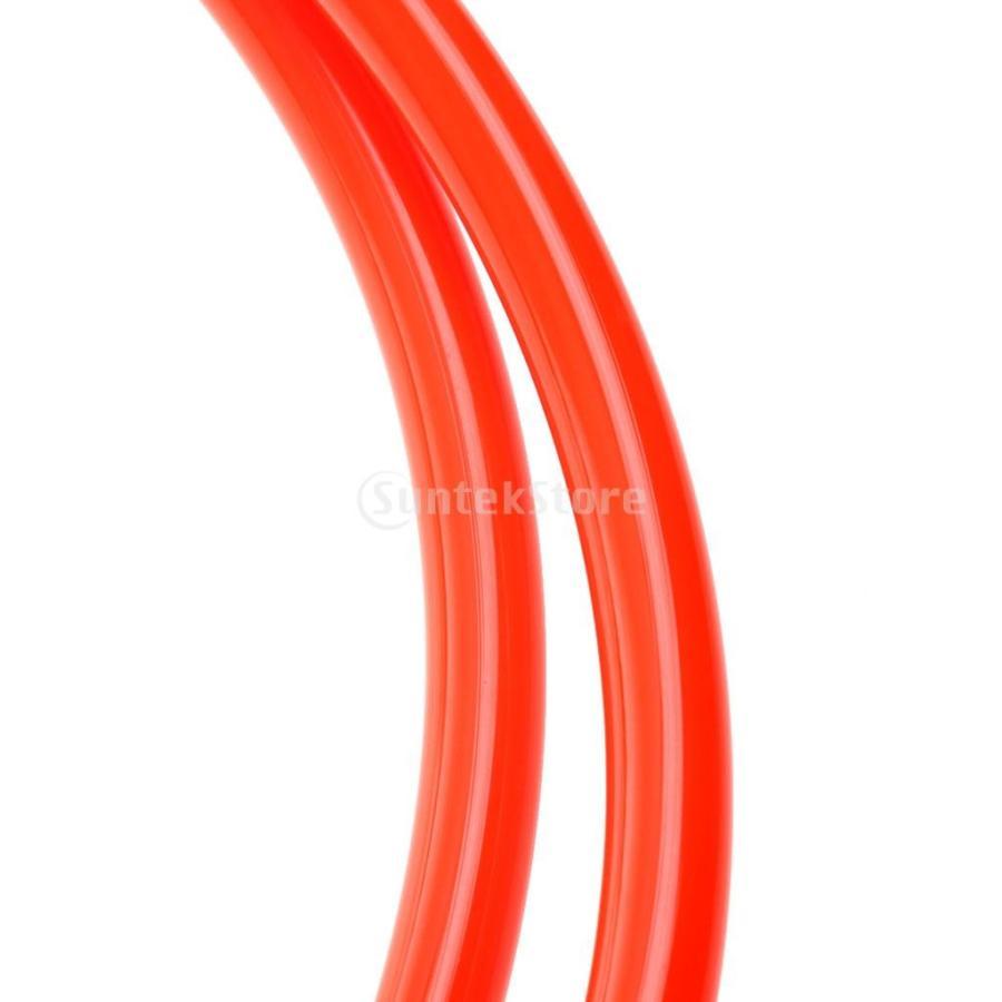 ウィンドサーフィン ハーネス ライン 長さ調節可能 2個 全2色5長さ - オレンジ, 28-34インチ stk-shop 05
