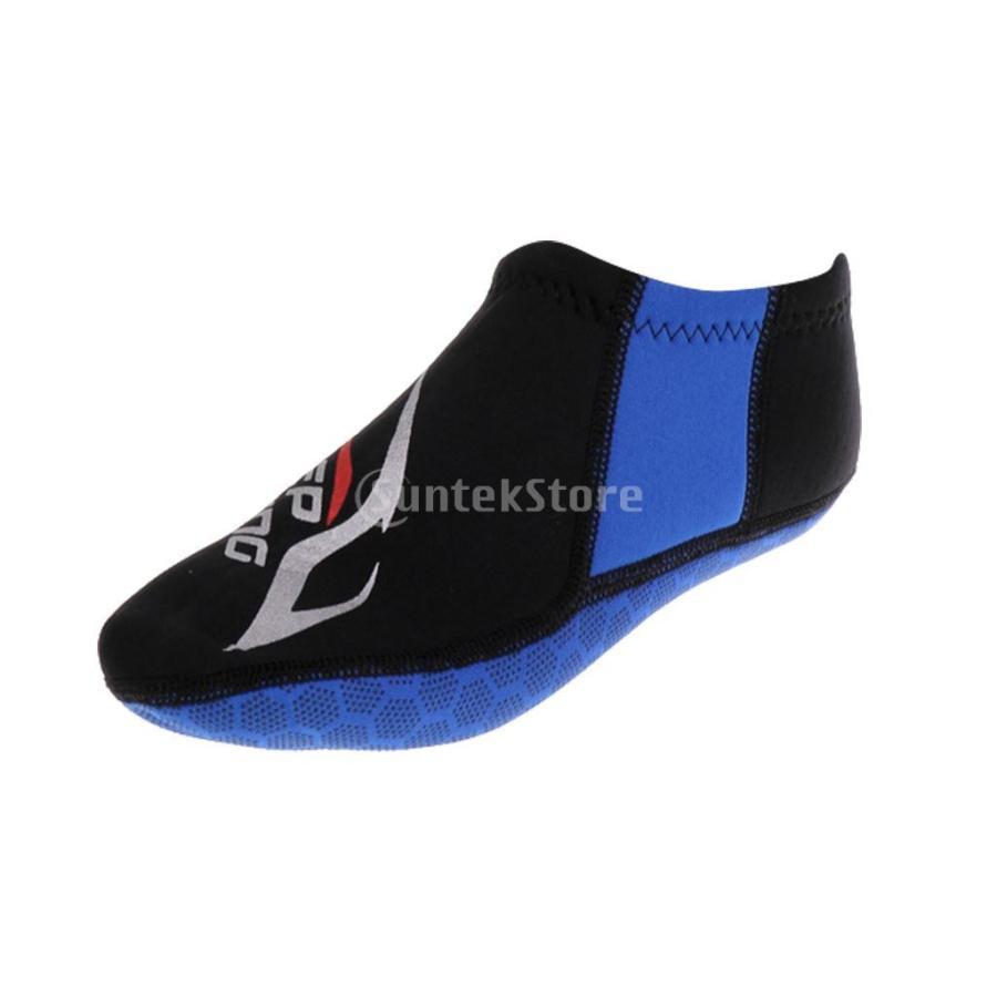 ウォータースポーツ ネオプレン ダイビング サーフィン ソックス 靴下 ブーツ 3mm 5サイズ選べる - M|stk-shop|02