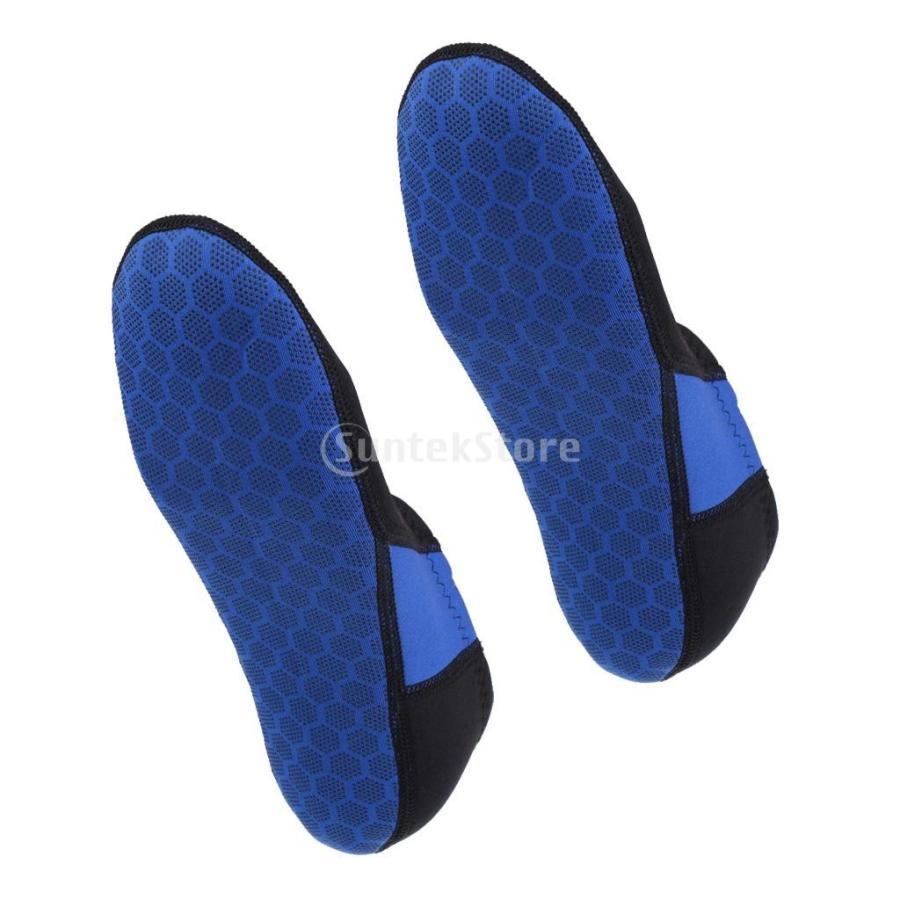 ウォータースポーツ ネオプレン ダイビング サーフィン ソックス 靴下 ブーツ 3mm 5サイズ選べる - M|stk-shop|11