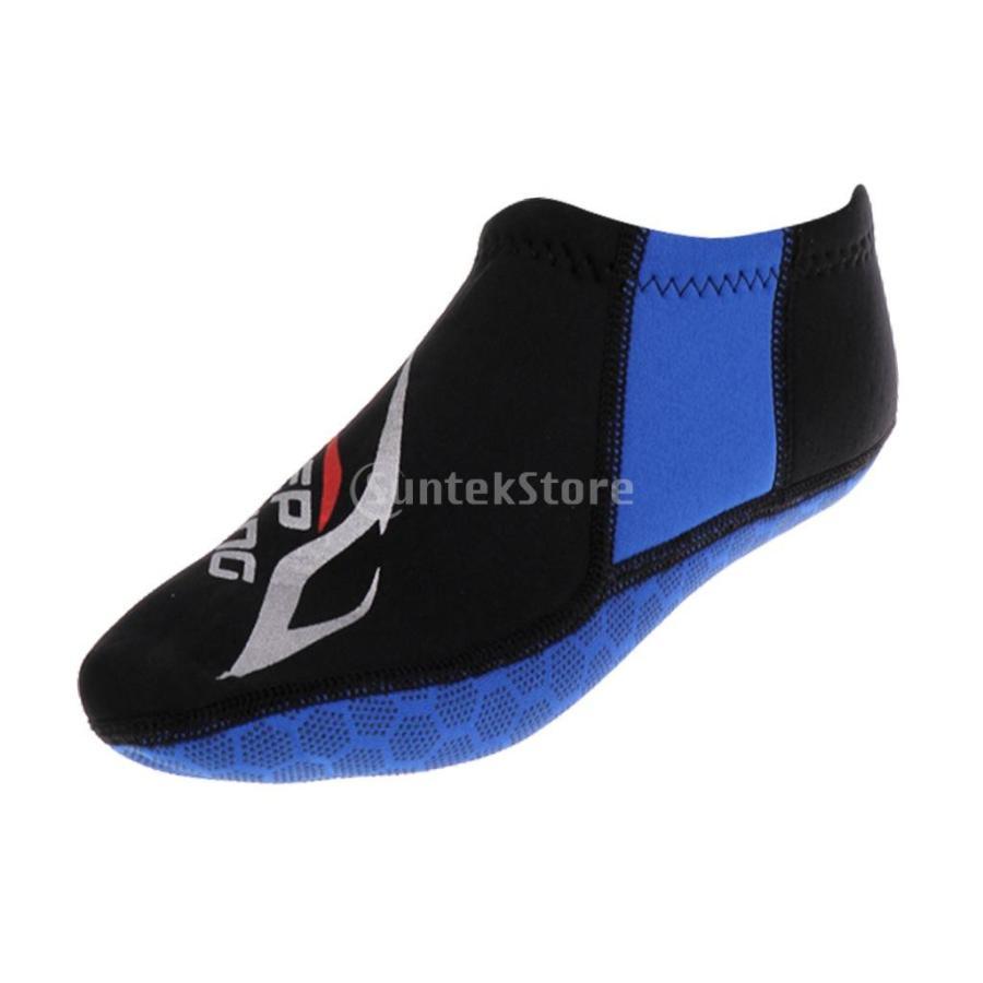 ウォータースポーツ ネオプレン ダイビング サーフィン ソックス 靴下 ブーツ 3mm 5サイズ選べる - M|stk-shop|03