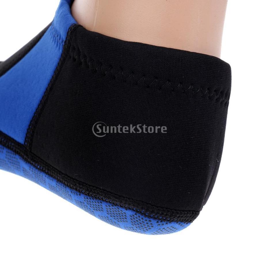 ウォータースポーツ ネオプレン ダイビング サーフィン ソックス 靴下 ブーツ 3mm 5サイズ選べる - M|stk-shop|05