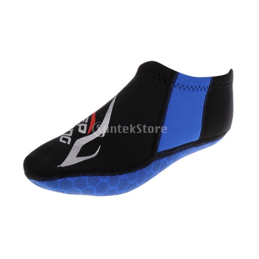 ウォータースポーツ ネオプレン ダイビング サーフィン ソックス 靴下 ブーツ 3mm 5サイズ選べる - M|stk-shop|06