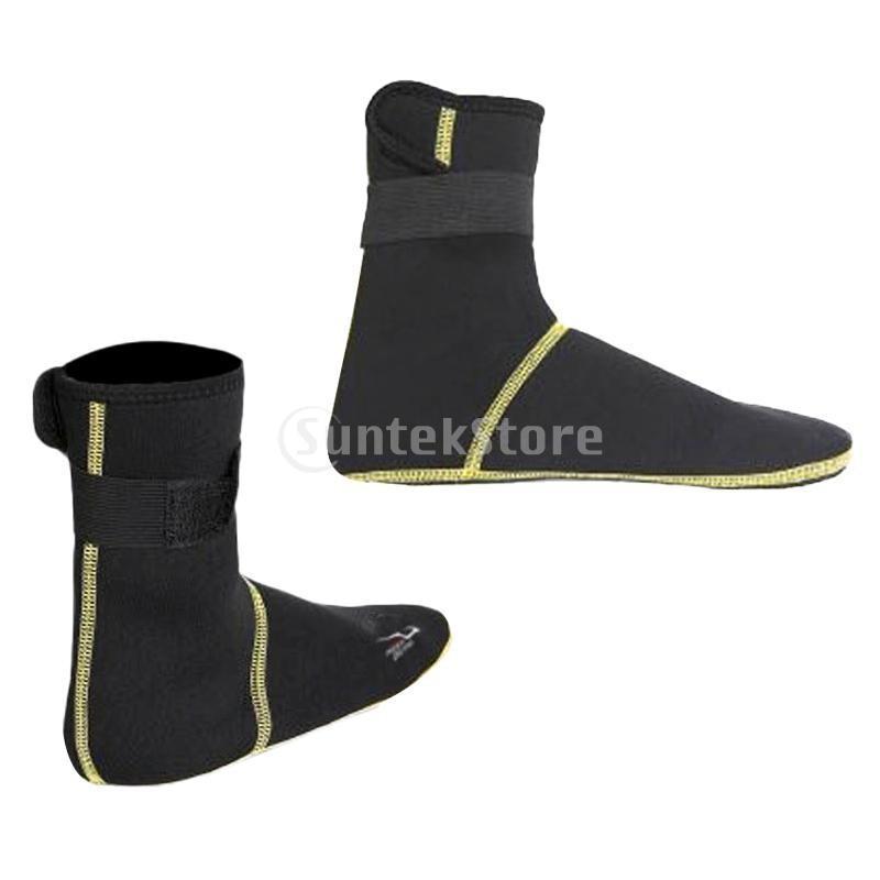 保暖 ネオプレン スイミング サーフィン ダイビング ソックス ウェットスーツ ブーツ 快適 全5サイズ - ブラック, XS stk-shop 07