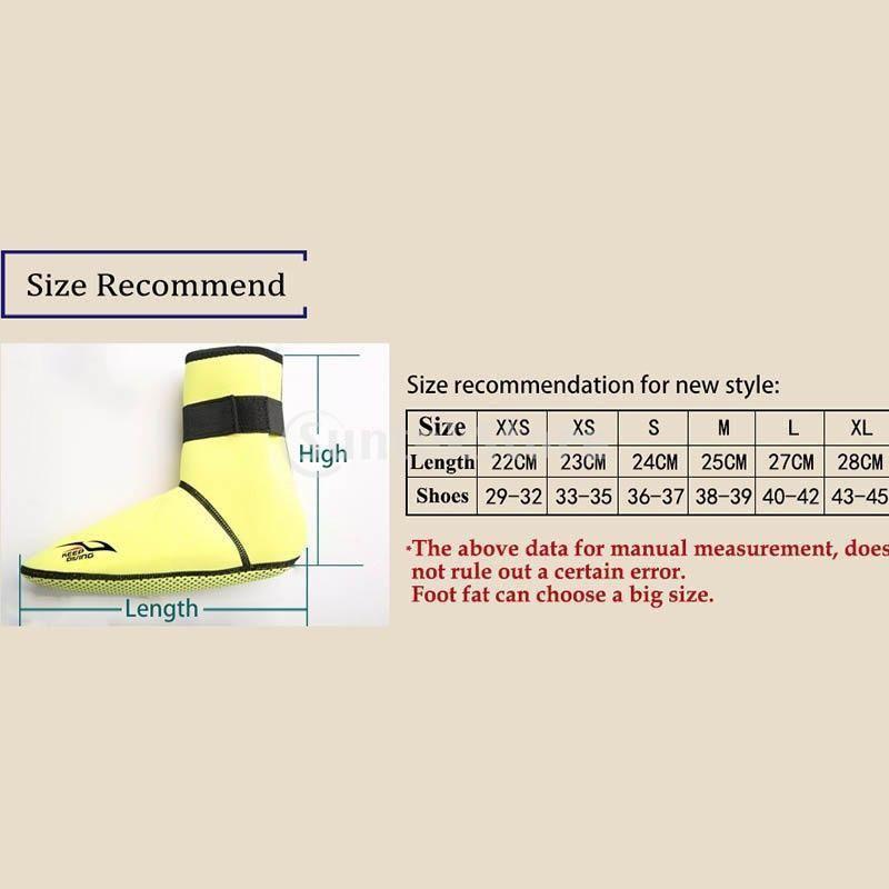 保暖 ネオプレン スイミング サーフィン ダイビング ソックス ウェットスーツ ブーツ 快適 全5サイズ - ブラック, XS stk-shop 08