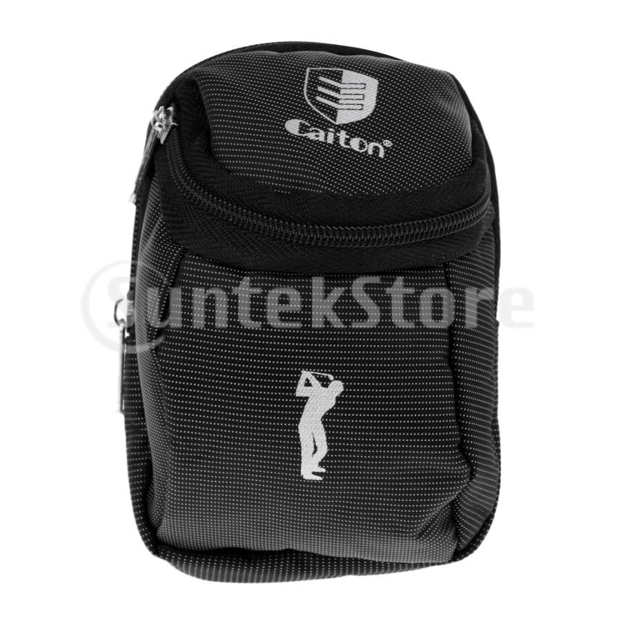 送料無料 ミニ ゴルフボール ボール収納 ホルダー ボールバッグ ボールケース ティーケース|stk-shop