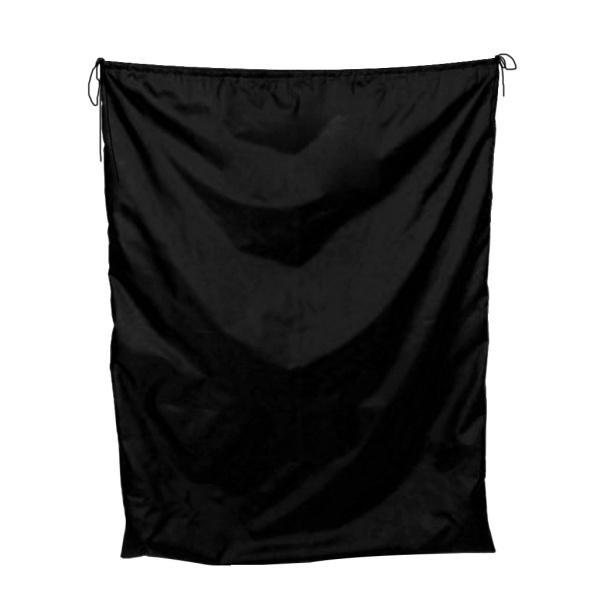 新品■送料無料■ ランキングTOP5 大容量バッグ防水巾着収納ポーチ袋ブラック50x70cm