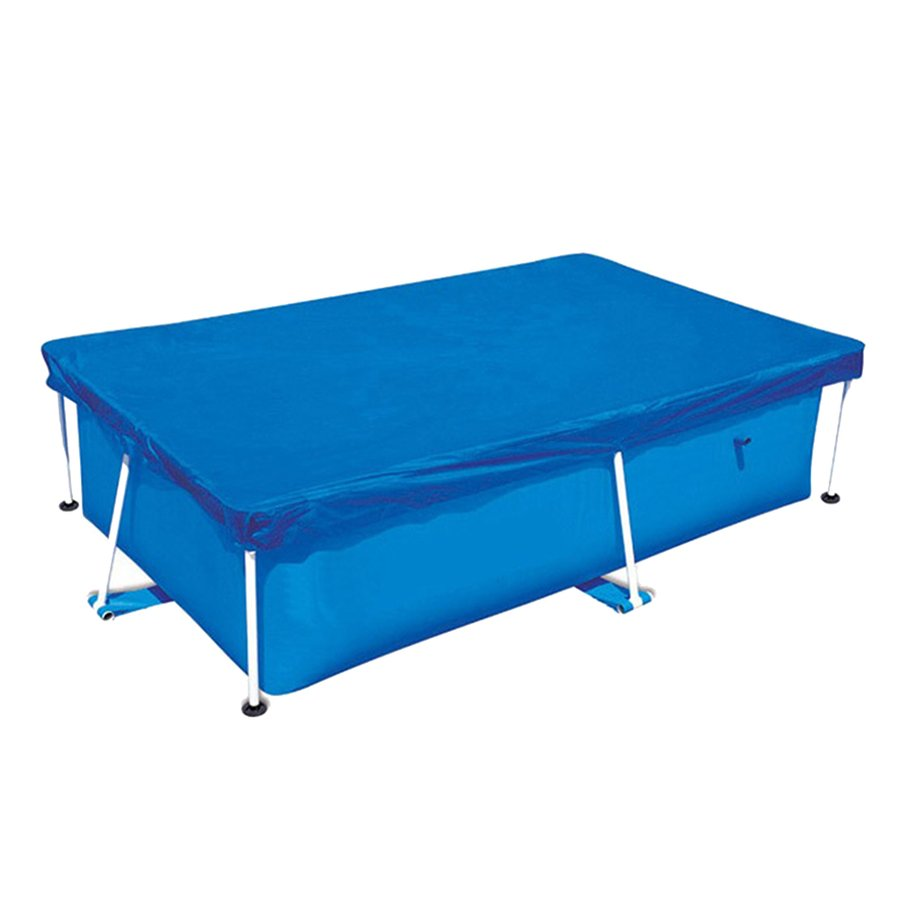 人気海外一番 220x150cm 特価 プールのふたシート スイミングプール保護布カバー