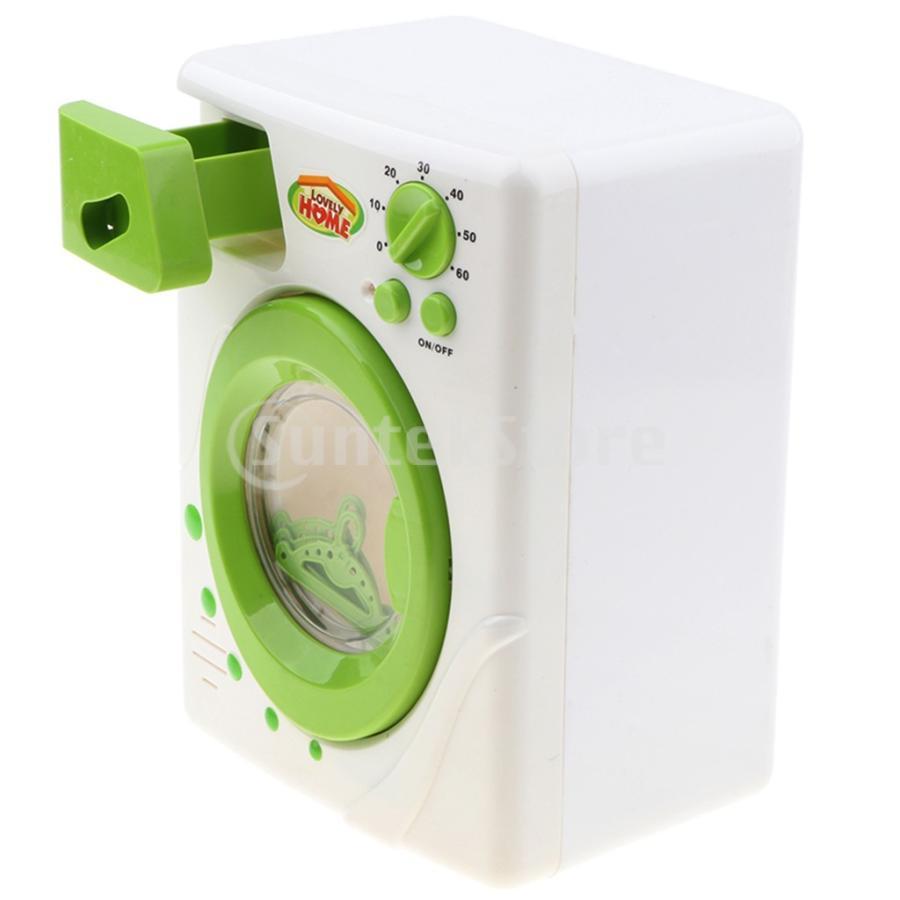 Perfeclan 全7カラー ままごと玩具 調理用品 ジューサー コーヒーマシン 洗濯機 家電おもちゃ 子ども ごっこ遊びセット - 洗濯機|stk-shop|03