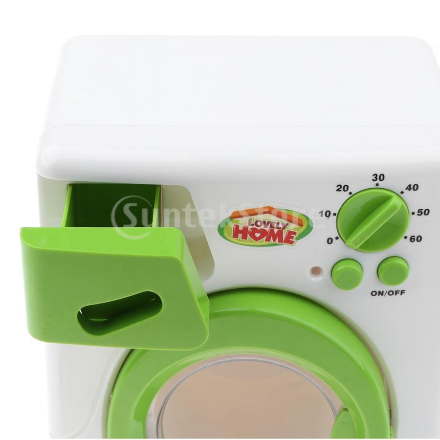 Perfeclan 全7カラー ままごと玩具 調理用品 ジューサー コーヒーマシン 洗濯機 家電おもちゃ 子ども ごっこ遊びセット - 洗濯機|stk-shop|04