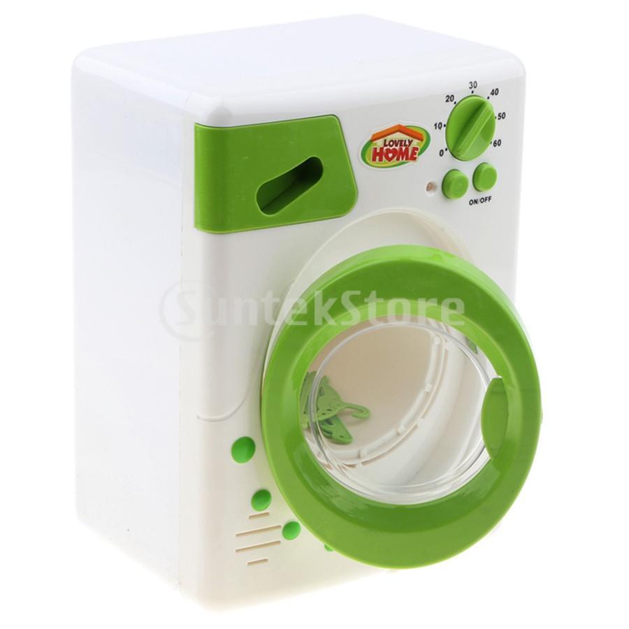 Perfeclan 全7カラー ままごと玩具 調理用品 ジューサー コーヒーマシン 洗濯機 家電おもちゃ 子ども ごっこ遊びセット - 洗濯機|stk-shop|05