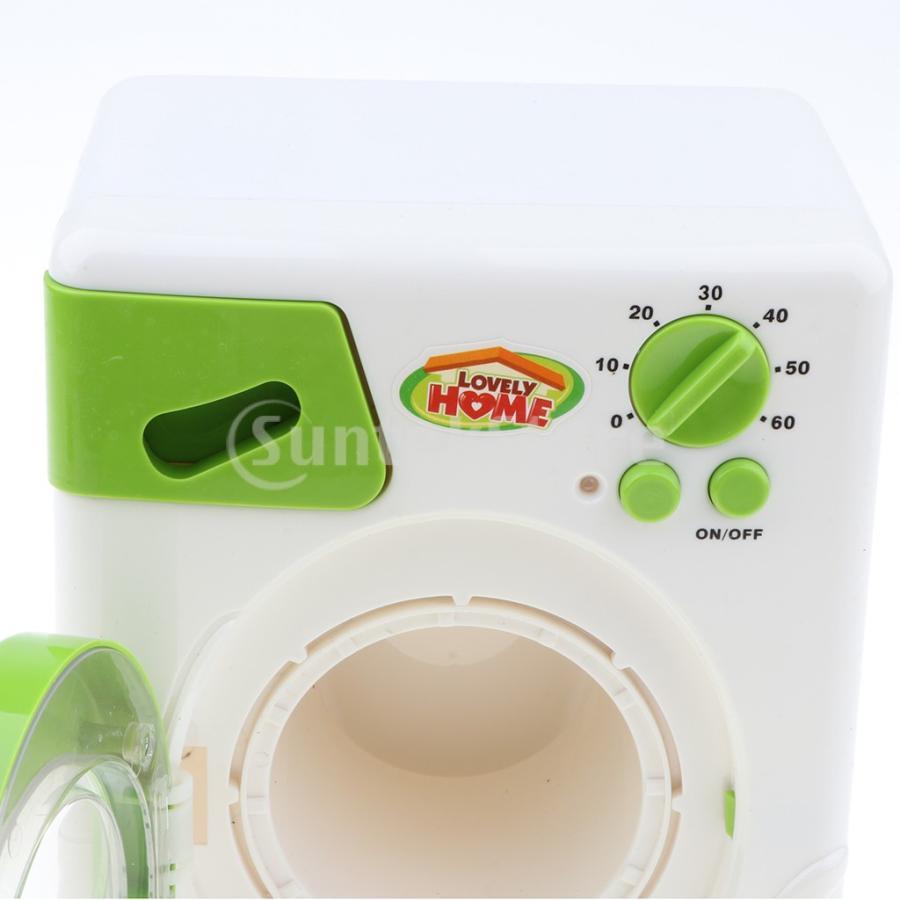 Perfeclan 全7カラー ままごと玩具 調理用品 ジューサー コーヒーマシン 洗濯機 家電おもちゃ 子ども ごっこ遊びセット - 洗濯機|stk-shop|06