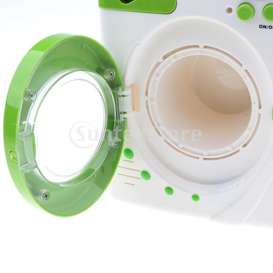Perfeclan 全7カラー ままごと玩具 調理用品 ジューサー コーヒーマシン 洗濯機 家電おもちゃ 子ども ごっこ遊びセット - 洗濯機|stk-shop|07
