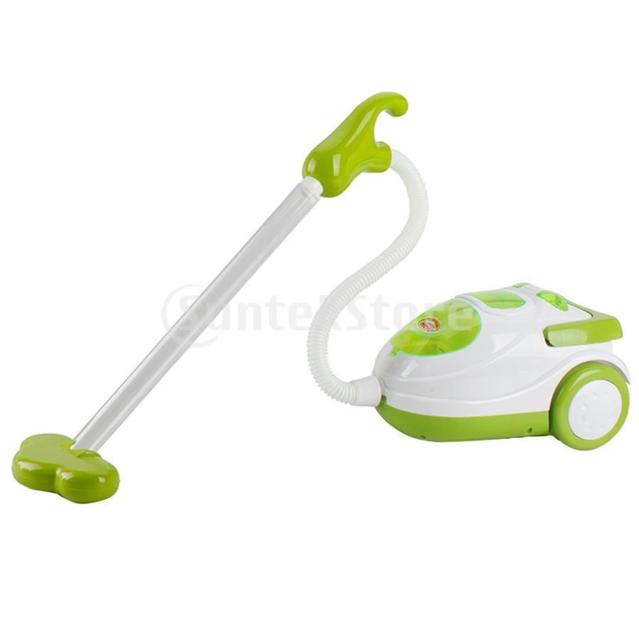 Perfeclan 全7カラー ままごと玩具 調理用品 ジューサー コーヒーマシン 洗濯機 家電おもちゃ 子ども ごっこ遊びセット - 掃除機|stk-shop