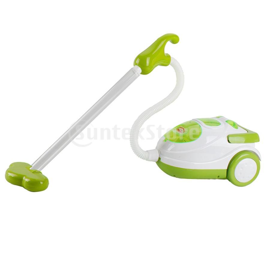Perfeclan 全7カラー ままごと玩具 調理用品 ジューサー コーヒーマシン 洗濯機 家電おもちゃ 子ども ごっこ遊びセット - 掃除機|stk-shop|05