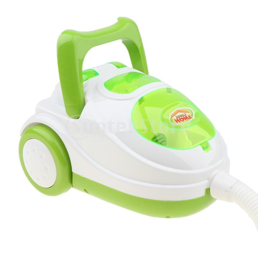 Perfeclan 全7カラー ままごと玩具 調理用品 ジューサー コーヒーマシン 洗濯機 家電おもちゃ 子ども ごっこ遊びセット - 掃除機 stk-shop 06