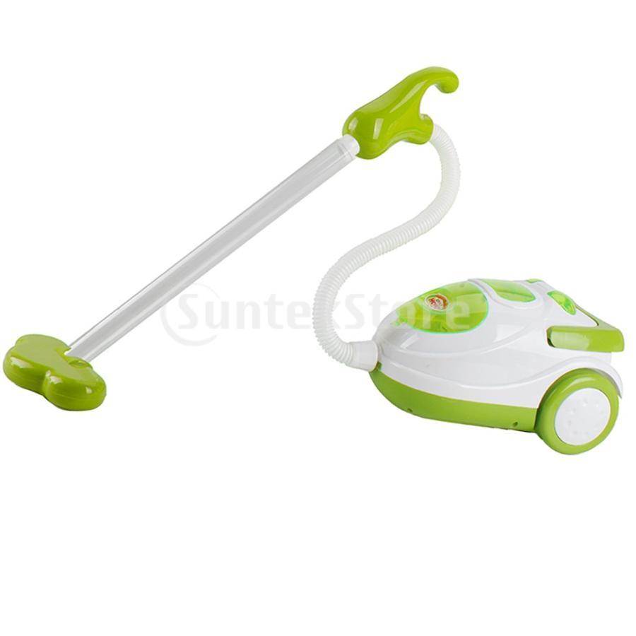 Perfeclan 全7カラー ままごと玩具 調理用品 ジューサー コーヒーマシン 洗濯機 家電おもちゃ 子ども ごっこ遊びセット - 掃除機|stk-shop|07