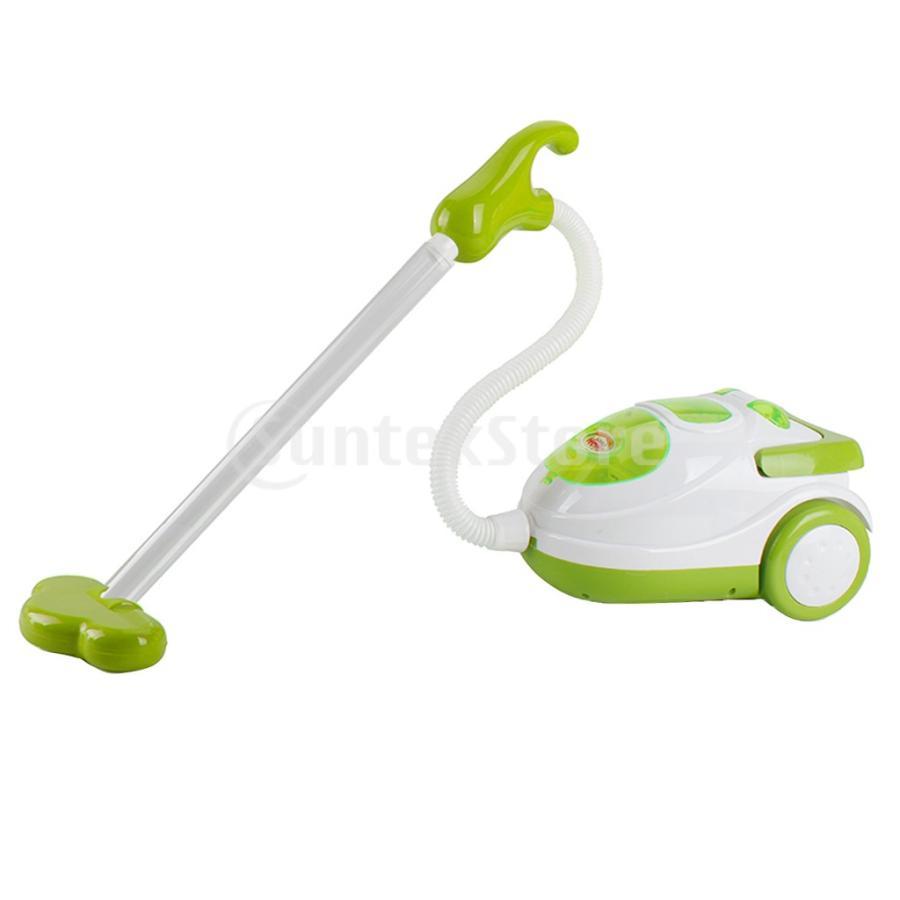 Perfeclan 全7カラー ままごと玩具 調理用品 ジューサー コーヒーマシン 洗濯機 家電おもちゃ 子ども ごっこ遊びセット - 掃除機|stk-shop|08