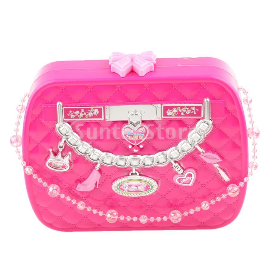 限定モデル 女の子メイクアップケース化粧品セットふりプレイキッズ美容玩具 お求めやすく価格改定
