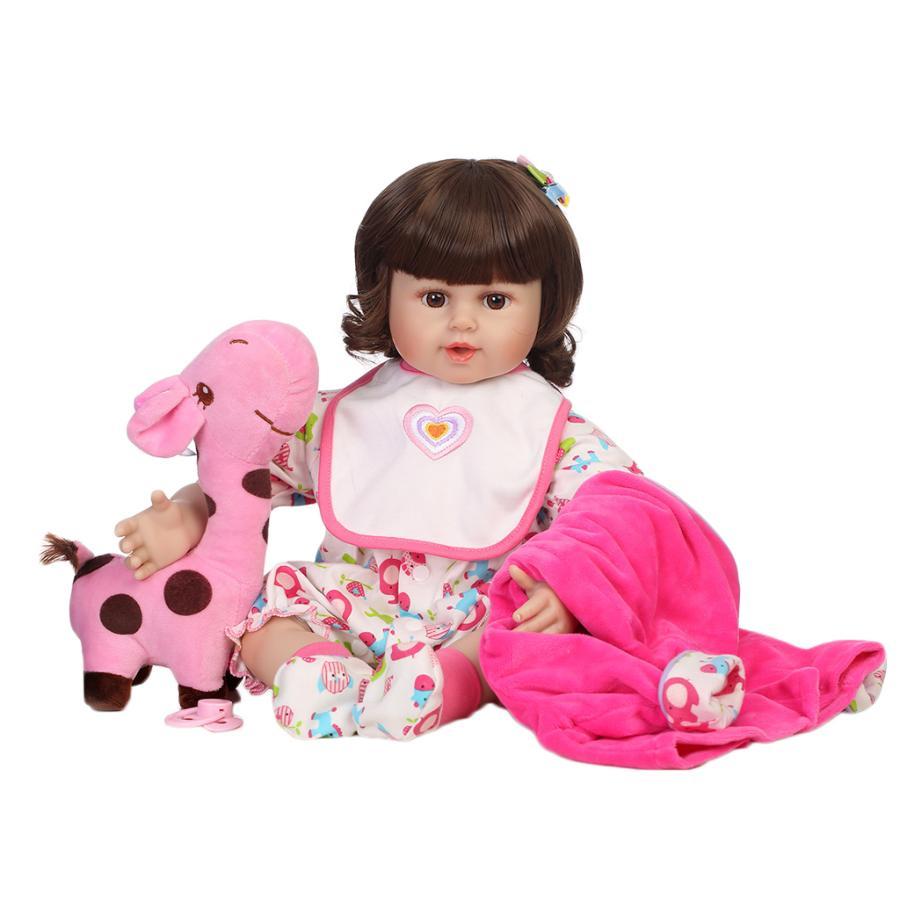 50cm実物大リアルなビニールの生まれたばかりの赤ちゃん人形