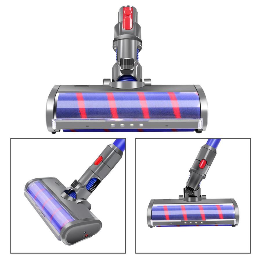 ダイソン V7 V8 V10 V11 ソフトローラクリーナーヘッド 交換用 コードレススティック掃除機 インストールが簡単 フロアヘッド stk-shop 05