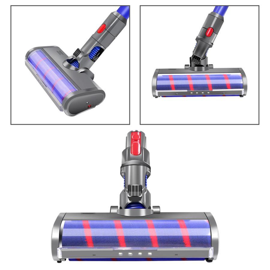 ダイソン V7 V8 V10 V11 ソフトローラクリーナーヘッド 交換用 コードレススティック掃除機 インストールが簡単 フロアヘッド stk-shop 06