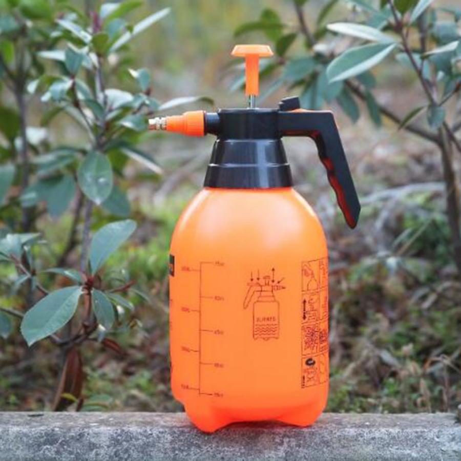 引き出物 オレンジ2L 全品送料無料 ガーデンポンプ噴霧器ハンドヘルド 庭の噴霧器ポンプ圧力水噴霧器