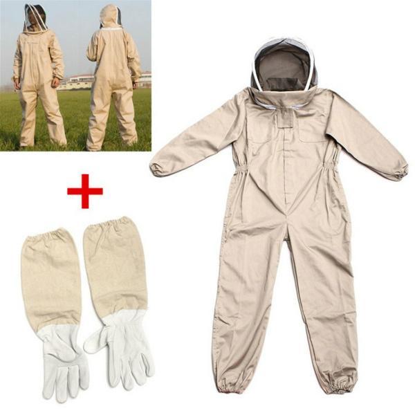 直送商品 !超美品再入荷品質至上! 蜂の保護服蜂の証拠のスーツプロの養蜂家のスーツL