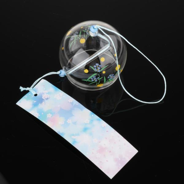 日本風ガラス風鈴吊り飾り家の装飾ギフトホタル 予約販売 卓抜