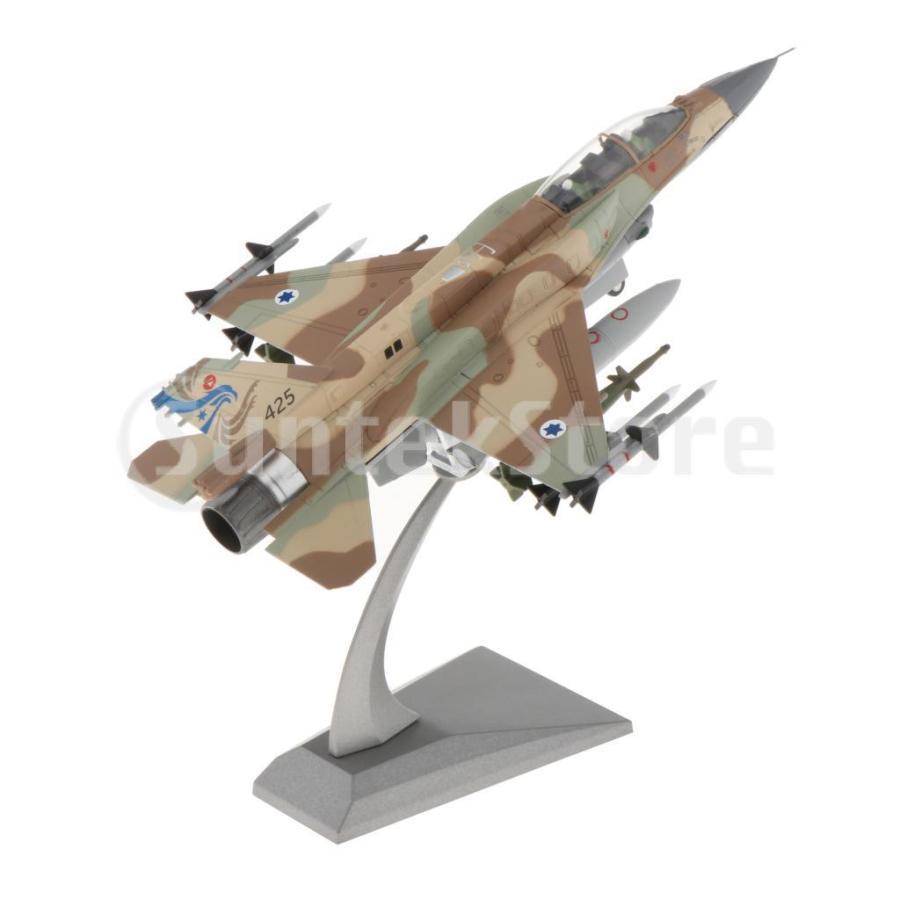 1:72スケールダイキャストミリタリーJF-16Iファイティングファルコン航空機モデル(スタンド付き)|stk-shop|08