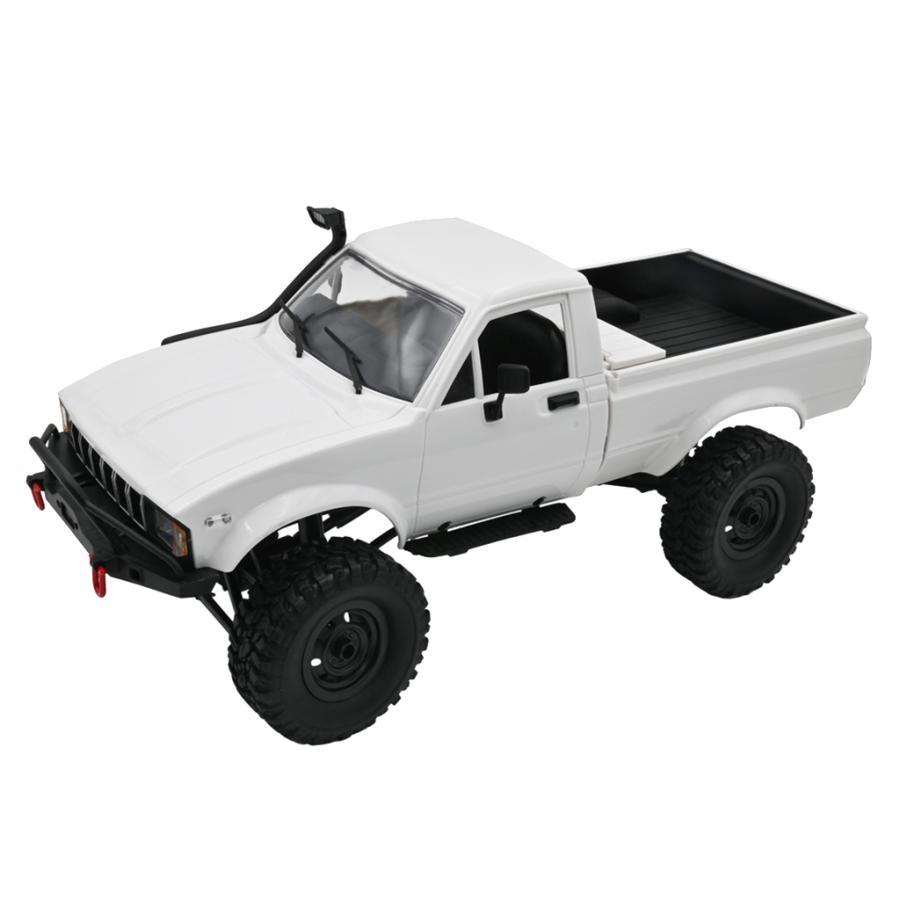 WPL C24 1 4WDクライマーRCカーキットクライミングピックアップトラック子供のおもちゃC24-1キット 国際ブランド 16 新色追加して再販