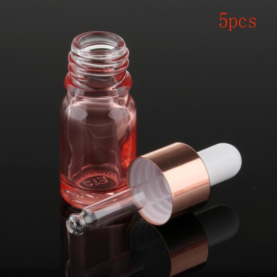 日本全国 送料無料 今ダケ送料無料 オイルマッサージ香水研究所用多機能ガラススポイトボトル5ml