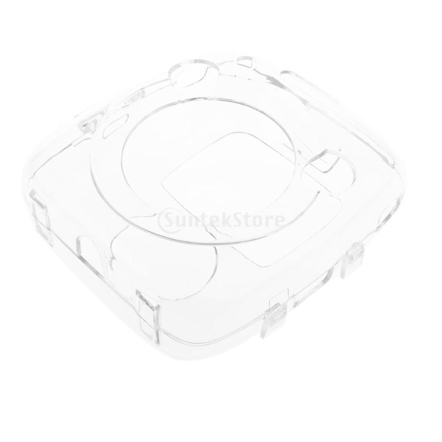 ストラップ付き クリア ハード ケース プロテクター カバー 富士フイルムインスタントスクエアSQ10に対応 ぴったり 保護性|stk-shop|11