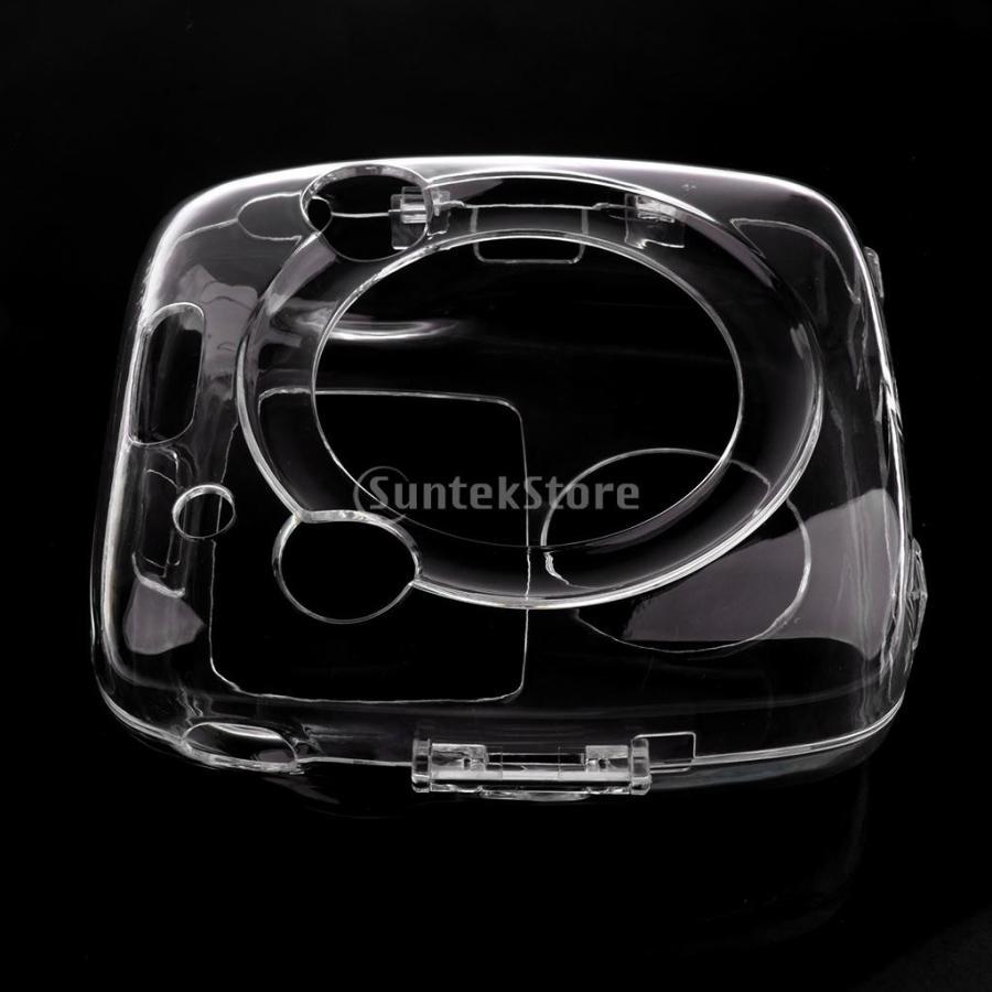 ストラップ付き クリア ハード ケース プロテクター カバー 富士フイルムインスタントスクエアSQ10に対応 ぴったり 保護性|stk-shop|13