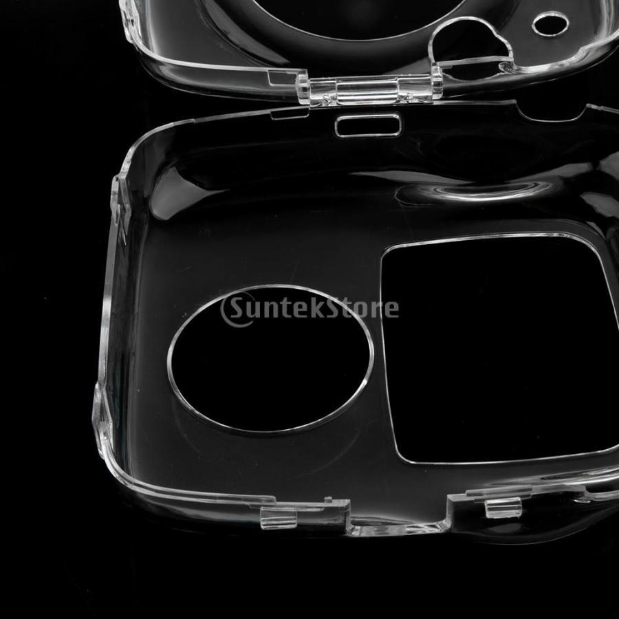 ストラップ付き クリア ハード ケース プロテクター カバー 富士フイルムインスタントスクエアSQ10に対応 ぴったり 保護性|stk-shop|07