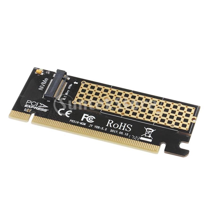 NVME M.2 NGFF拡張カードアダプターSupprot Mキー高速へのPCIE3.0 16X stk-shop 08