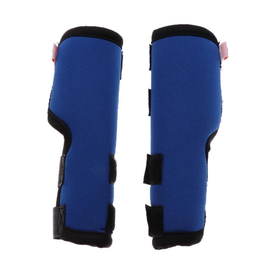 全3色 ペット用 犬用 関節プロテクター サポーター ケア用品 安全性 全2色3サイズ - S ブルー 定価 ご予約品
