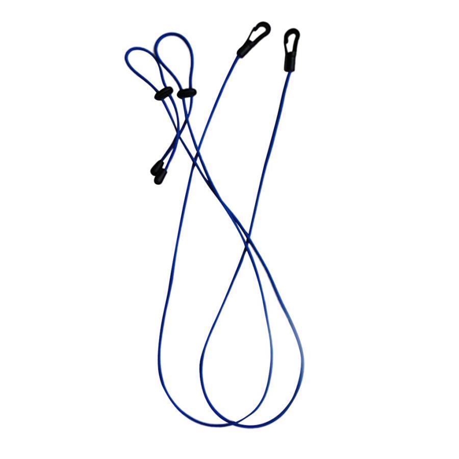2本 カヌー ボート 釣り竿ストラップ 登場大人気アイテム パドルリーシュ コード ブルー AL完売しました。 1.2m リーシュ 全5色 ロープ -