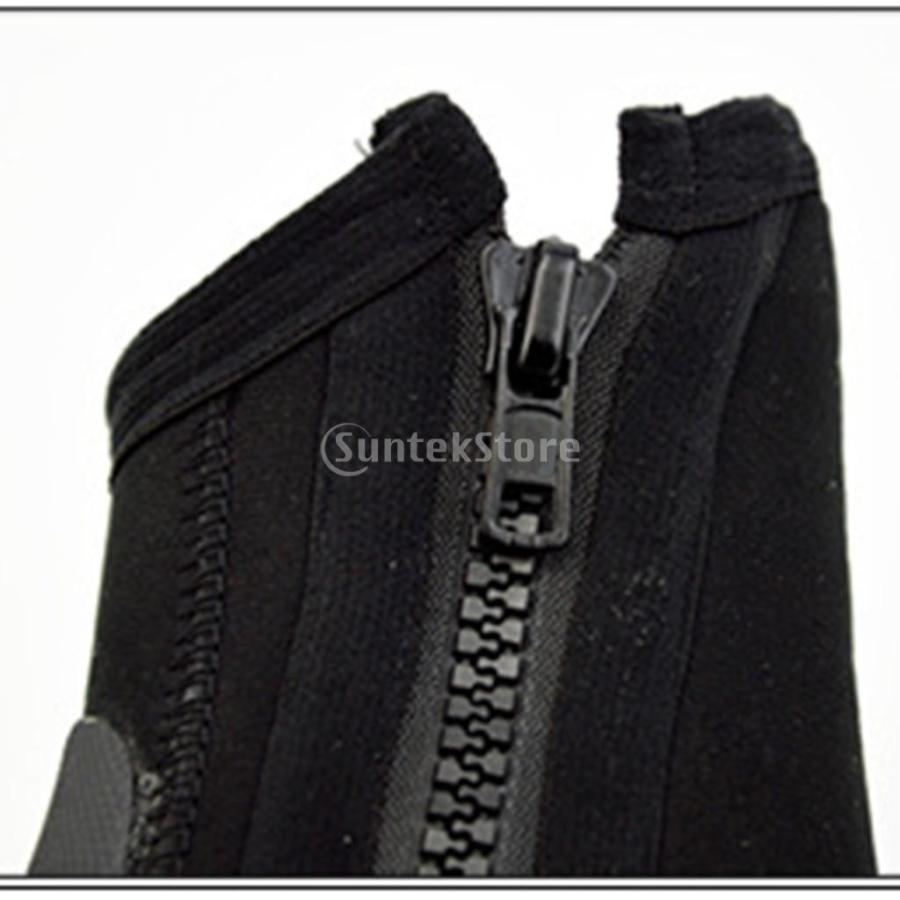 サーフィン カヤック ダイビングブーツ 靴 5mmネオプレン スーパーストレッチ 水漏れ防止 全7サイズ - M, 39-40|stk-shop|13