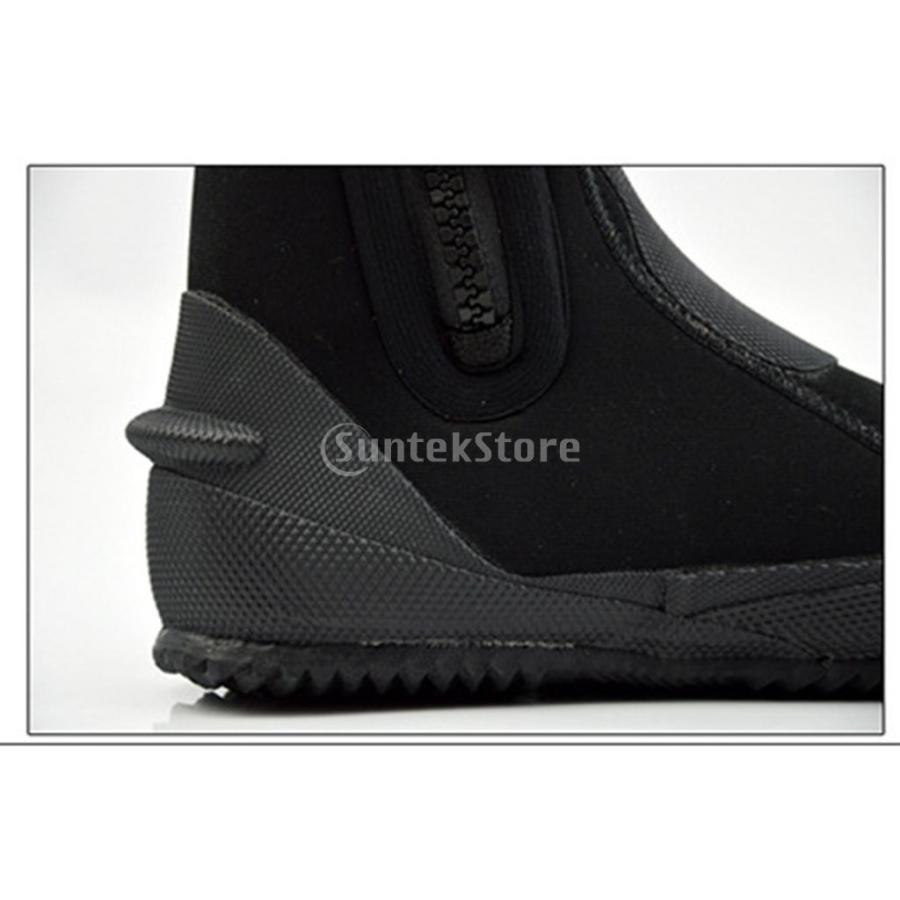 サーフィン カヤック ダイビングブーツ 靴 5mmネオプレン スーパーストレッチ 水漏れ防止 全7サイズ - M, 39-40|stk-shop|14