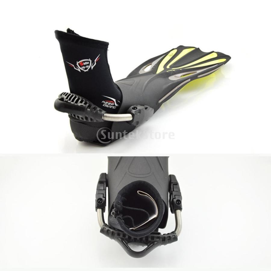サーフィン カヤック ダイビングブーツ 靴 5mmネオプレン スーパーストレッチ 水漏れ防止 全7サイズ - M, 39-40|stk-shop|18