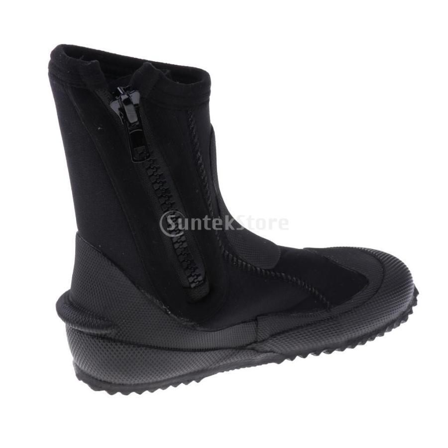 サーフィン カヤック ダイビングブーツ 靴 5mmネオプレン スーパーストレッチ 水漏れ防止 全7サイズ - M, 39-40|stk-shop|06