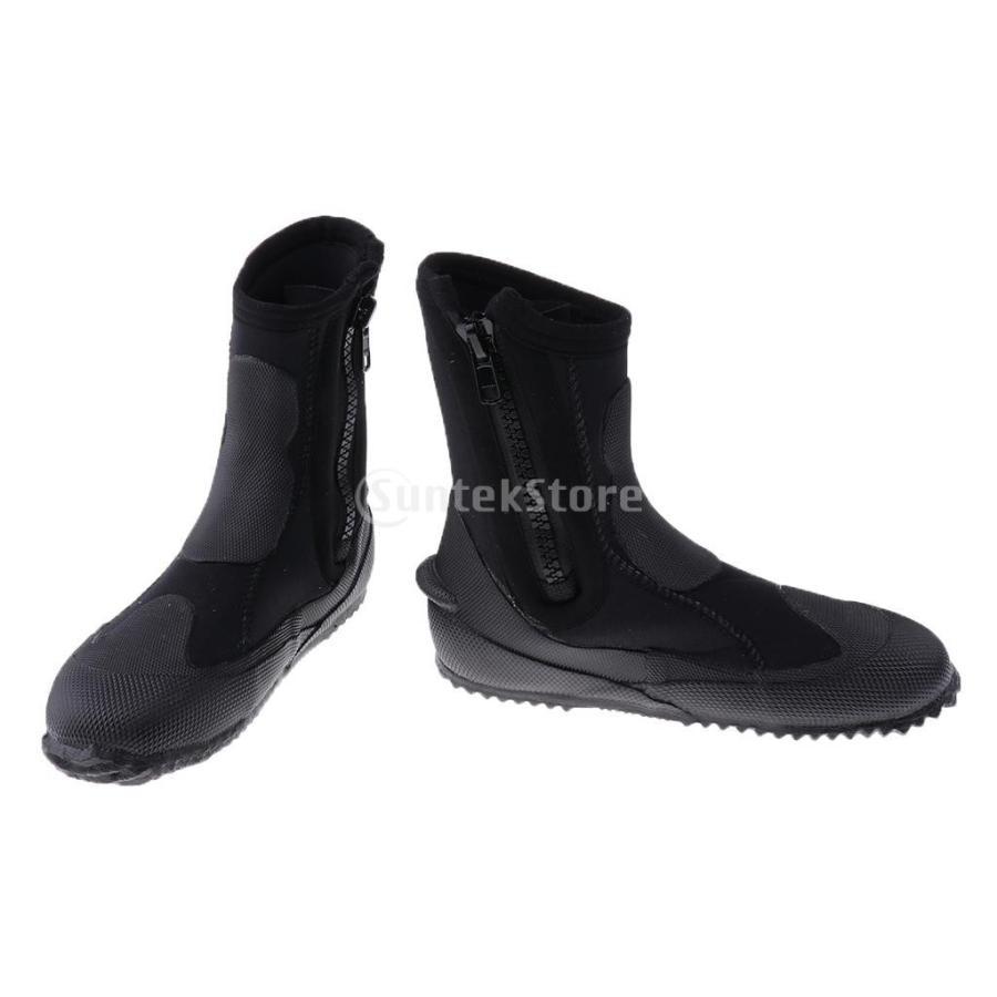 サーフィン カヤック ダイビングブーツ 靴 5mmネオプレン スーパーストレッチ 水漏れ防止 全7サイズ - M, 39-40|stk-shop|10