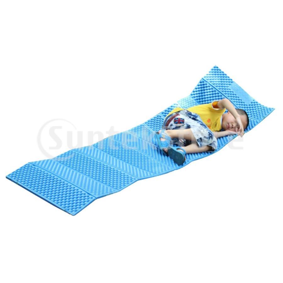スリーピングパッド 折りたたみ 屋外キャンプマット ポータブル ピクニック 睡眠クッションパッド 快適 軽量 アーミーグリーン stk-shop 03